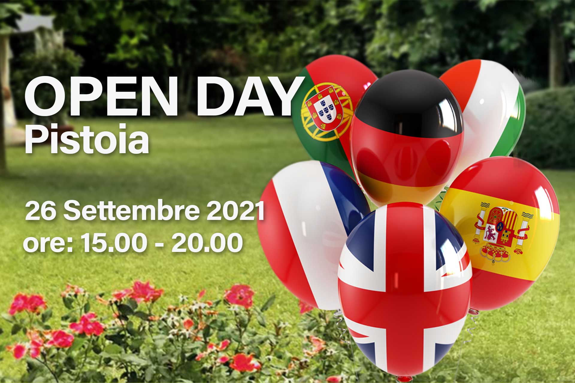 Hallo Open Day Pistoia